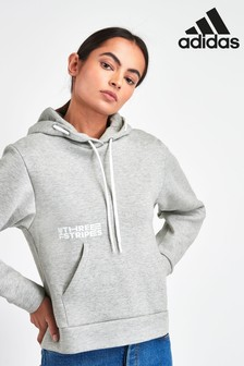 adidas Grey The Pack Overhead Hoody