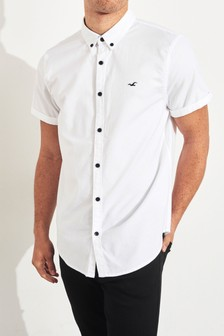 Hollister Long Sleeve Oxford Shirt