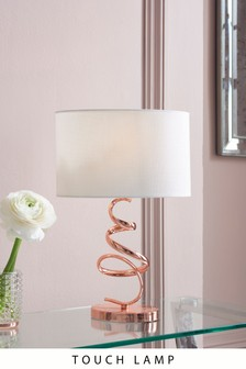 Ribbon Touch Table Lamp
