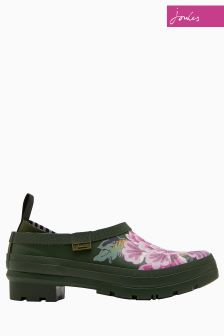 Joules Green Grapeleaf Chinoise Floral Pop-Ons