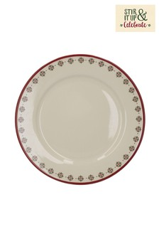 Set of 4 Creative Tops Stir It Up Celebrate Dinner Plates