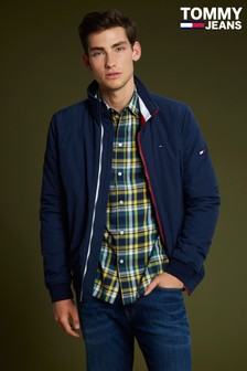 Tommy Jeans Blue Padded Bomber