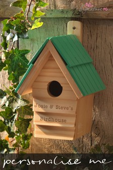 Personalised RHS Bird House by Signature PG
