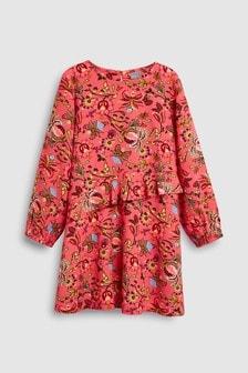 Ruffle Viscose Dress (3-16yrs)