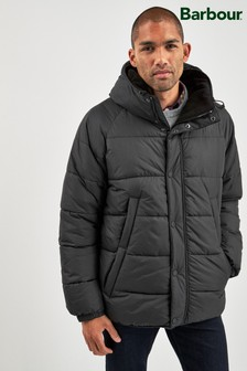 Barbour® Black Switun Quilted Coat