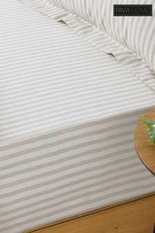 Hebden Striped Fitted Sheet by Riva Home