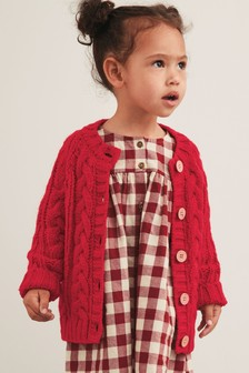 Cable Cardigan (3mths-7yrs)