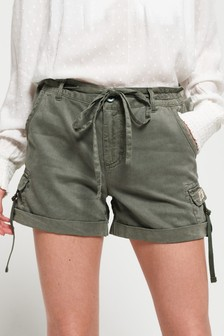 Superdry Tencel Cargo Shorts