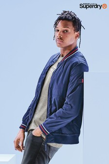 Superdry Navy Bomber Jacket
