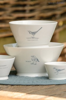 Mary Berry Garden Pied Wagtail Medium Serving Bowl