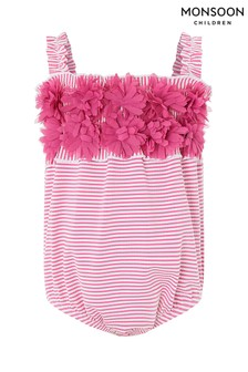 Monsoon Pink Baby Penny Swimsuit