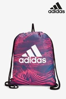 adidas Pink Print Gymsack