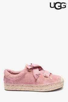 Baskets à semelles espadrilles UGG® Brianna roses