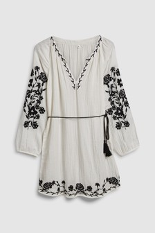 Embroidered Cover-Up
