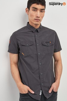 Superdry Black Short Sleeve Rookie Shirt