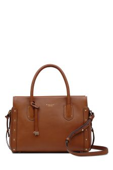 Radley Tan Medium Multiway Grab Zip Top Bag