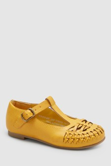 Woven T-Bar Shoes (Younger)
