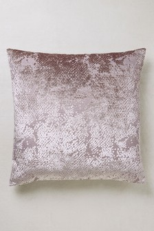Geo Cut Velvet Collection Luxe Cushion