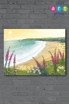Dawn Over Foxglove Bay by Jo Grundy Canvas