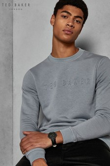 Ted Baker Blue Sweat Top