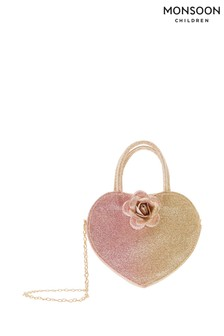 Monsoon Ombre Rosie Heart Bag