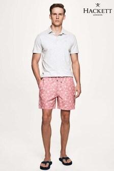 Hackett Pink Starfish Swim Short