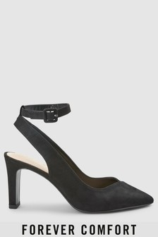 Ankle Strap Slingbacks