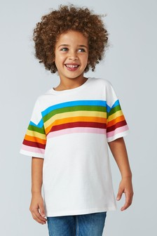 Rainbow Stripe T-Shirt (3-16yrs)
