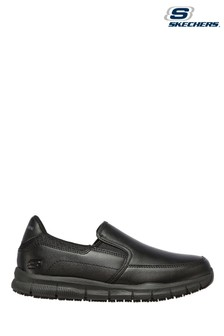Skechers® Black Nampa Annod Slip Resistant Trainers
