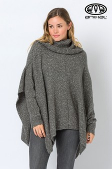Animal Charcoal Oversize Kyra Knitted Jumper
