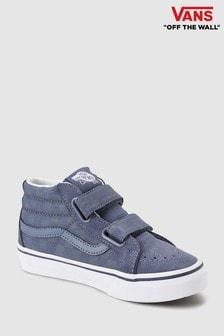 Vans Grey Check Sk8 Hi