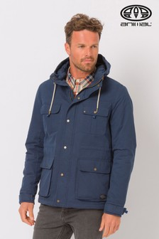 Animal Dwr Fieldman Jacke, marineblau