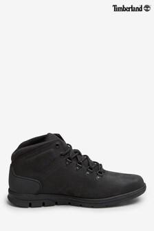 Timberland® Mens Black Nubuck Bradstreet Hiker Boots