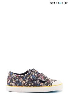 Start-Rite Meadow Navy Floral Canvas Shoes