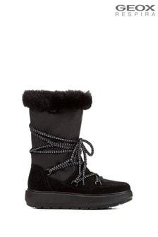 Geox Women's Kaula Black Boots