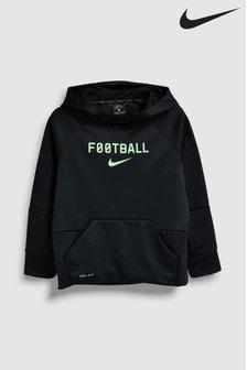 Nike Therma Black Football Hoody