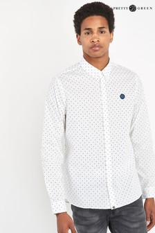 Pretty Green Horlock Polka Dot Shirt