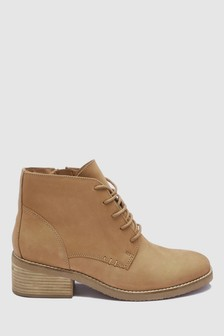 Bottines en daim