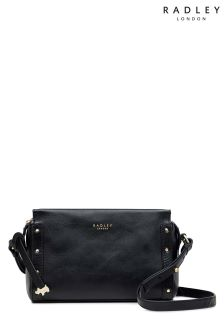 Radley Black Small Cross Body Zip Top Bag