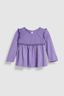 Long Sleeve Dobby Blouse (3mths-6yrs)