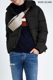 River Island Black Quilted Jacket