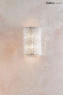 Gallery Direct Silver Petra Wall Light