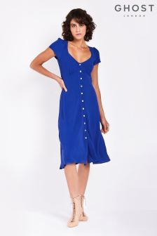 Ghost London Blue Leona Dress