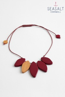 Seasalt Red Maple Paint Splash Necklace