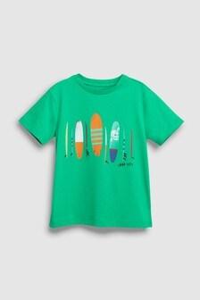 Surfboard Print T-Shirt (3-16yrs)