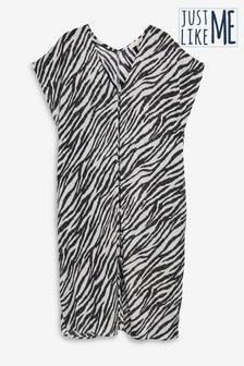 Zebra Print Kaftan