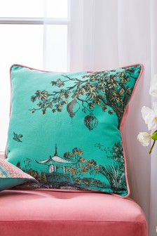 Toile Jacquard Cushion