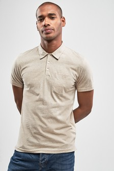 Marl Pocket Polo