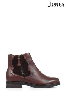 Jones Bootmaker Brown Verona Waterproof Chelsea Boots