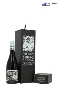 Moonstruck Shiraz Tempranillo And Truffles Gift Box by Lanchester Gifts